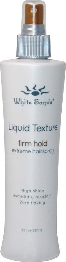 White Sands 液体テクスチャ当社は、ホールド非エアゾール髪は、ブロー乾燥用の最大ボリューム8.5オンスと熱保護スタイリングスプレーと企業ホールドのスタイル 8.5オンス