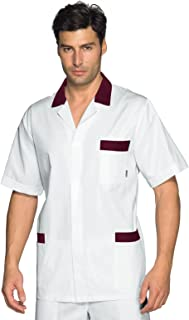 Isacco Casacca Taipei Bianco Bianco S Manica Lunga 100/% Cotone
