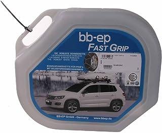 BB EP Schneekette für BMW Serie 5 Touring (F11) mit der Reifengröße 245/45 R18   MIT SELBSTSPANNMECHANISMUS   mit Ö Norm, Uni und TÜV