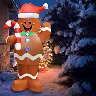 Black Mrs Claus Inflatable