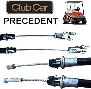 No. 1 accessories 2PCS Club Car Precedent Brake Cable Driver & Passenger Side 2004+ G&E Golf Cart