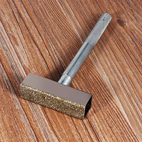 Schleifscheiben-Kommode, Dressing-Tischschleifmaschine Formt abgenutzte Räder neu. Sicherer Griff Top-Top-Zustand für Dressing-Bankschleifer