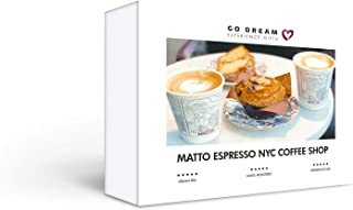 Matto Espresso NYC Coffee Shop Gift Card - GO DREAM - Sent in a Gift Package