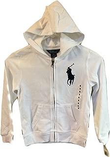 Ralph Lauren Boys Children Sweatshirt Full Zip Hoodie Jacket