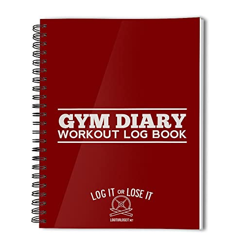 Gym Diary - A pocket sized workout log book …