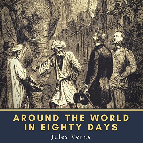 Page de couverture de Around the World in Eighty Days