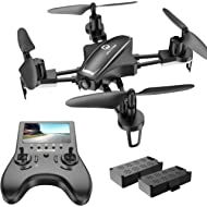 Holy Stone Racing Drone with HD Camera for Adults Beginners, Quadcopter with 120°FOV 720P FPV...