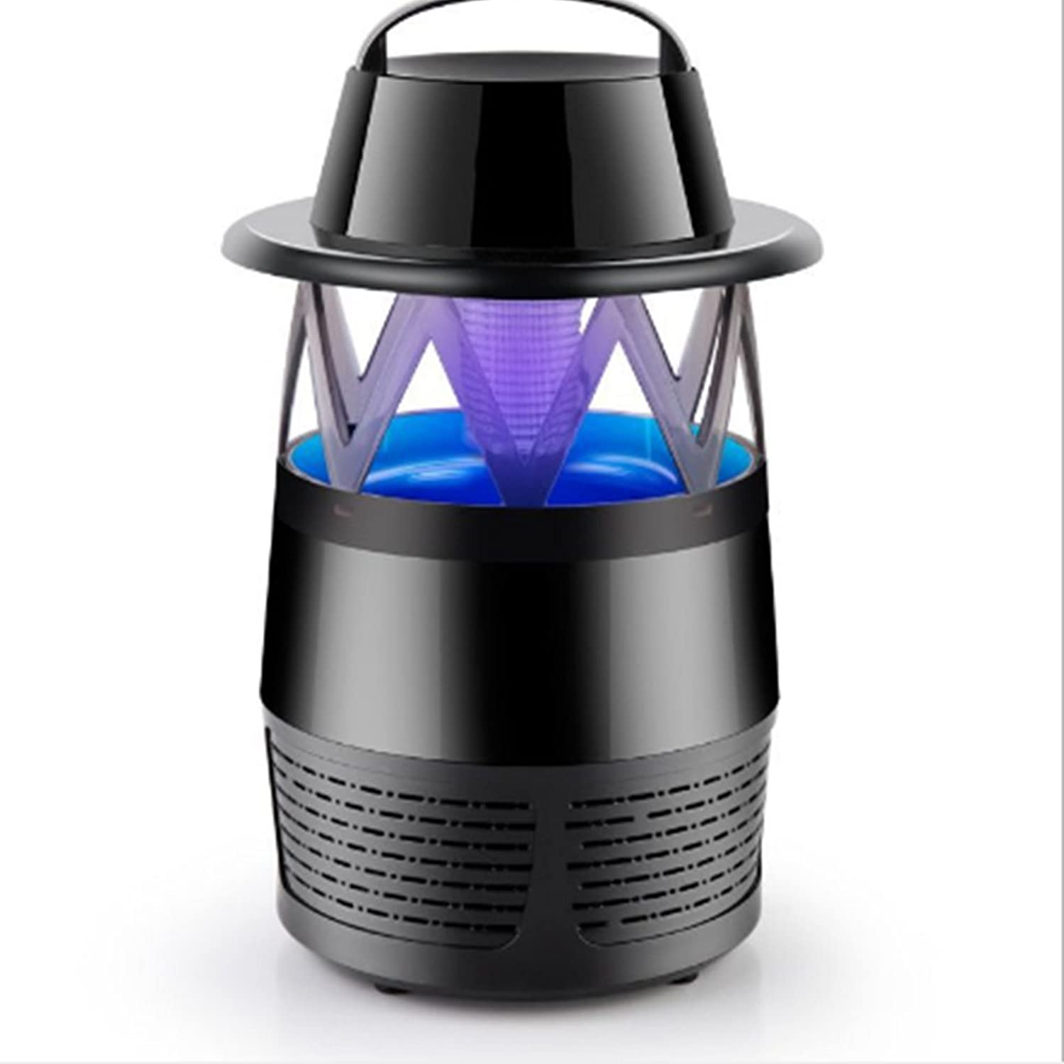 USB Charging Mosquito Killer Lamp No Radiation Photocatalyst Pregnant Woman Baby Repellent Lamp ( color   Black )
