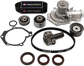 Timing Belt Water Pump Kit fit for 1999 2000 2001 2002 2003 2004 2005 Hyundai Sonata, 2001-2005 Hyundai Santa Fe, 2001-2006 Kia Optima 2.4L 16V DOHC G4JS