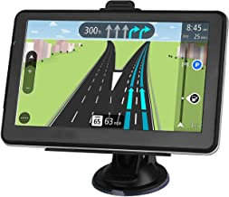 GPS Navigation for car, 7-inch Display 256MB-8GB Real Voice Broadcast Route Top US Map (Lifetime Map Free Update)