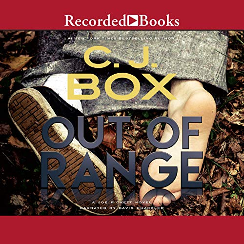 Out of Range audiobook cover art