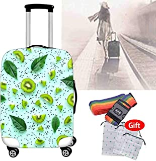 Shockproof Suitcase Cover Elastic Wear-Resistant Luggage Protective Sleeve 18-32 Inch Trolley Case Waterproof Dust Cover