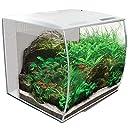 Fluval 15005 Flex Aquarium Set, 34 L, weiß