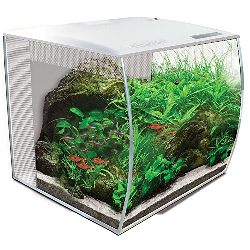 Fluval 15005 Flex Aquarium Set, 34 L, weiß
