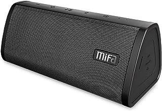 مكبر صوت بلوتوث، MIFA A10 اللاسلكي المحمول TWS V4.2، وقت تشغيل 16 ساعة، 10 وات، صوت ستيريو وجرس عالي الدقة IP45، مقاوم للم...