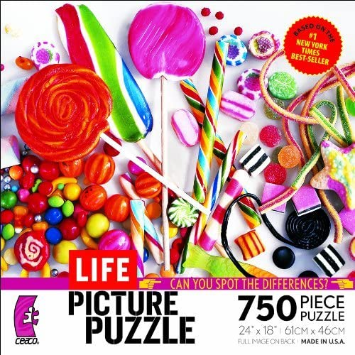 Ceaco Life Picture Puzzle-Candy is Dandy by Ceaco
