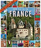 365 Days in France 2021 Calendar