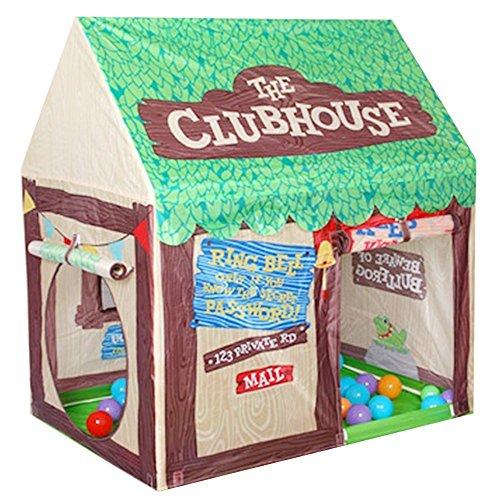 Floving Juegos de Interior / Exterior para niños Tiendas de niños Chocolate Playhouse Palace Tiendas (Verde)