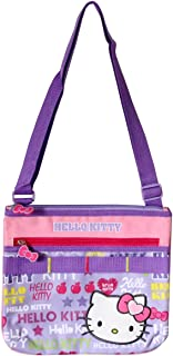 Hello Kitty Girly Collection Messenger Shoulder Bag Purple