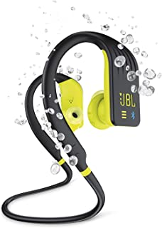 JBL Endurance Series Dive Waterproof Bluetooth Earphones, Lime