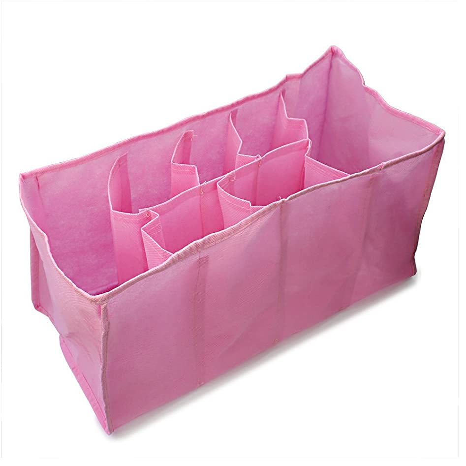 ビバサイクル休戦Gaoominy マザーバッグ 旅行ナッピーバッグ ストレージのため ベビーおむつ服(L、ピンク色)