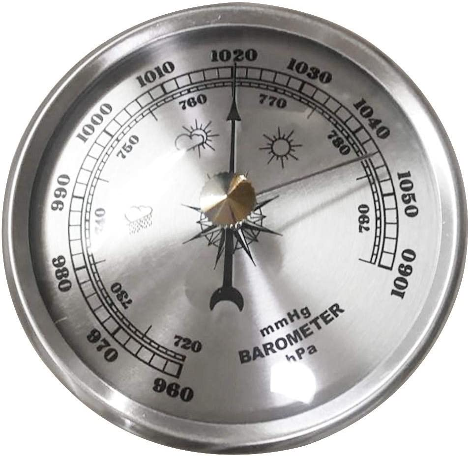 MDHANBK Wall Hanging 出色 Atmospheric Accuracy 有名な Hygrometer M Barometer