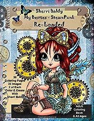 My Besties Steampunk Coloring Book