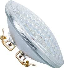 PAR36 LED Landscape Bulb 9W 3000K Warm White, AC/DC12V, 900Lumens 60W Halogen Equivalent, Water Resistant, PAR36 LED Bulb for Landscape Lighting, off-road Vehicles (Pack of 1)