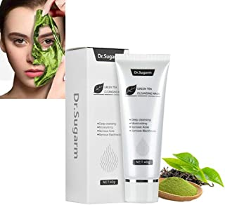 Green Tea Face Peel Mask Blackhead Remover Acne Deep Cleansing Mask Skin Care Mask Exfoliating & Repair,Reduces Fine Lines...