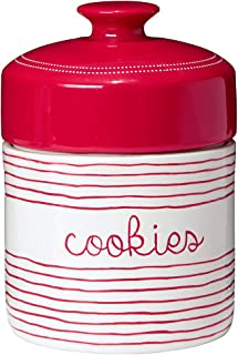 ATD 62502 10.25 Road Trip Theme Red//White Retro Roadside Diner Cookie Jar