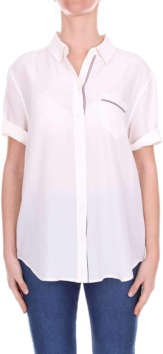 EQUIPMENT Women's Q2916E911WHITE White Silk Shirt