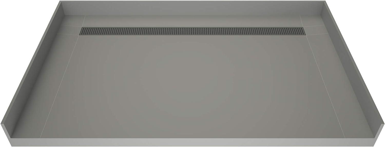 Tile Redi T3660B-BFDNBVZ Shower Pan Back Kit Drai with Flashing Cheap mail order sales SALENEW very popular