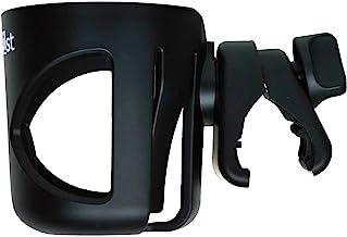 Babies1st Getränkehalter für Kinderwagen und Buggy, Schraubklemme mit Anti-Rutsch Einsatz, für Trinkflaschen, Babyflaschen, Becher, Dosen