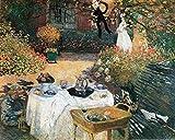 1art1 Claude Monet - Das Mittagessen, 1873 Poster
