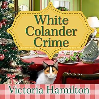 White Colander Crime audiobook cover art