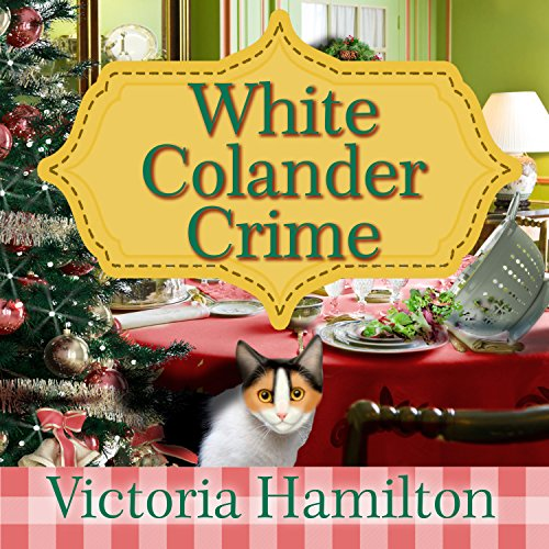 White Colander Crime audiobook cover art