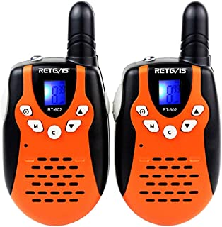 Retevis RT-602 Walkie Talkies for Kids Rechargeable 22 Channel VOX Two Way Radio for Kids..