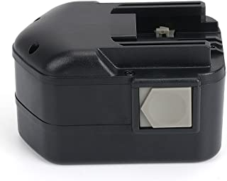 PowerGiant 14.4V 2.0Ah NiCd Replacement Battery for Milwaukee 48-11-1000 48-11-1014 48-11-1024, 9082-20 9082-22 0511-21 0512-21 0514-20 0512-24 PAS 14.4 Power Plus
