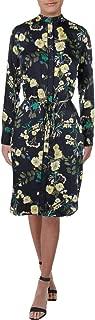 LAUREN RALPH LAUREN Womens Danona Button-Down Floral Shirtdress