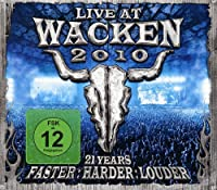 Wacken 2010 - Live At Wacken Open Air Festival + Blueray (REGION 0)