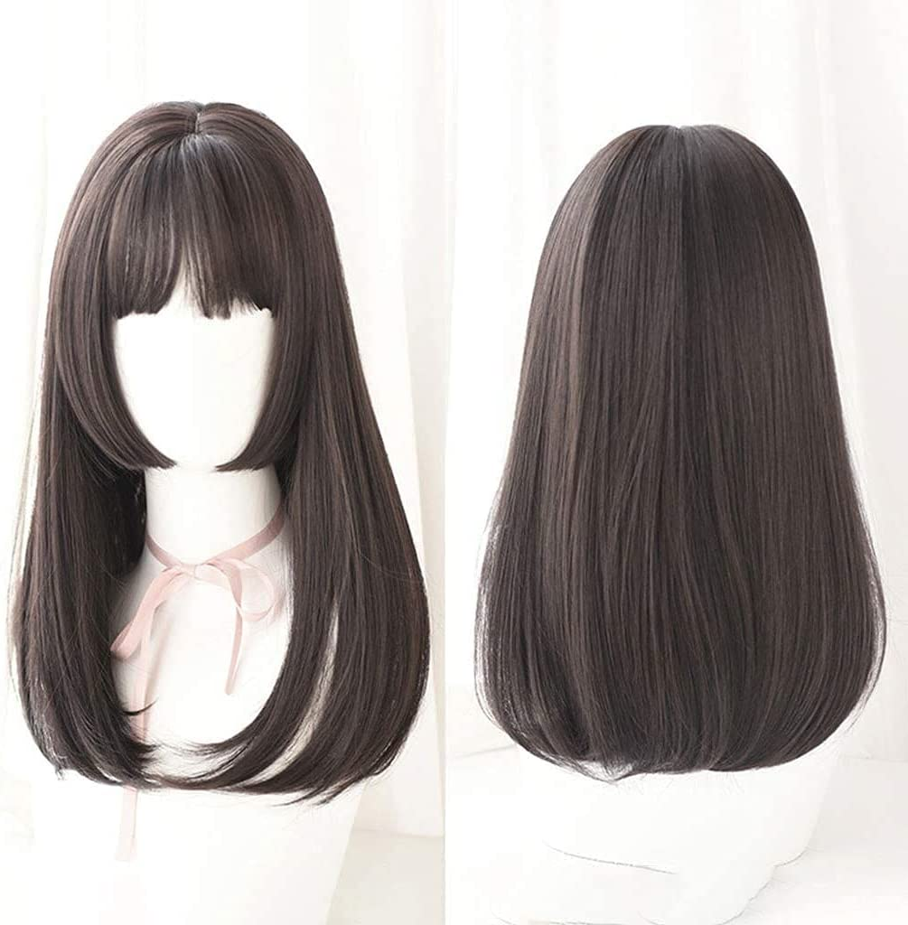 Natural Beautiful Wigs Hairpieces Direct stock discount Long Straight Lolita Japanese Latest item
