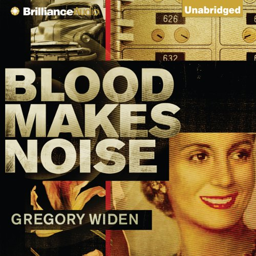 Blood Makes Noise audiobook cover art