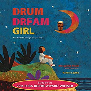 Drum Dream Girl audiobook cover art