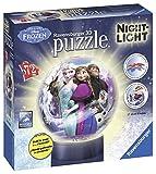 Ravensburger Italy- Disney Frozen Puzzle 3D Lampada Notturna, 12190