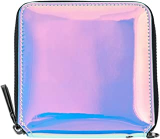 2018 Women Wallets Geometry Luminous Clutch Female Zipper Phone Bag High Capacity Women Coin