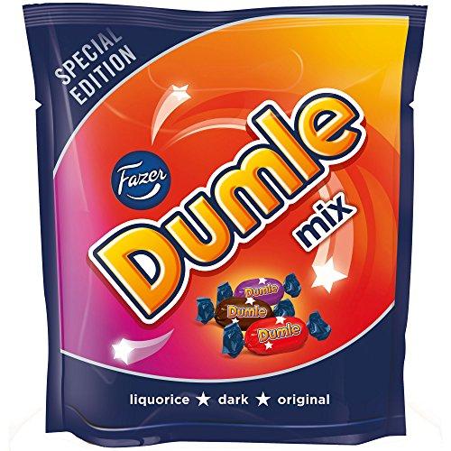 Fazer Dumle Mix Special Edition Karamell-Toffees mit Schokoladenüberzug 350 g