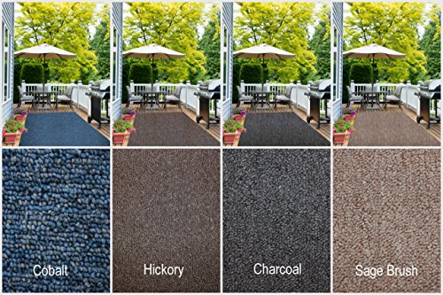 Indoor - Outdoor Area Rug Runners. Great Solution for Covering Decks, Balconies, Patios, etc. Multiple Colors (4