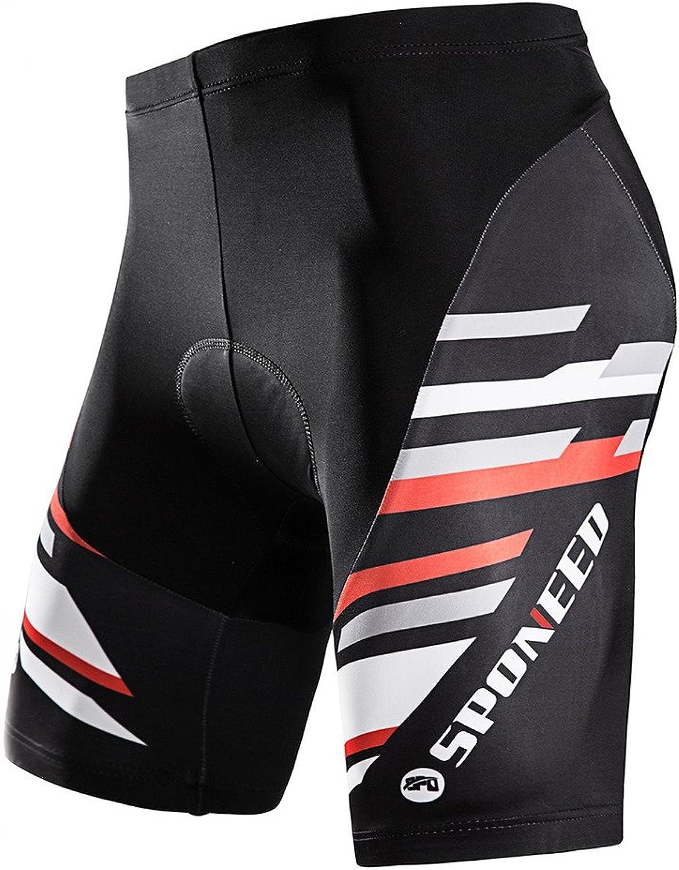 - Sponeed Bicycle Shorts for Men Cycle Tights Tights Tights Pants Padded Short 6a9cee