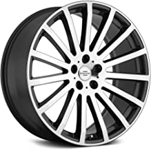 Redbourne Dominus Grey Wheel with Gunmetal Machined Face (20 x 9.5 inches /5 x 120 mm, 32 mm Offset)