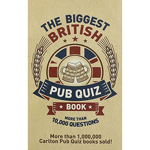 Seven Oaks The Biggest British Pub Quiz Book